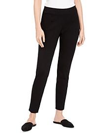 Organic Slim-Leg Pants