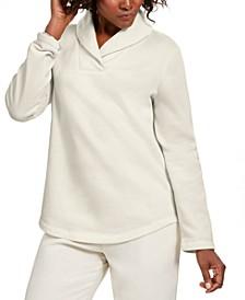 Sport Shawl-Collar Fleece Pullover, Created for Macy's