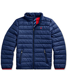 Polo Ralph Lauren Big Boys Packable Quilted Down Jacket