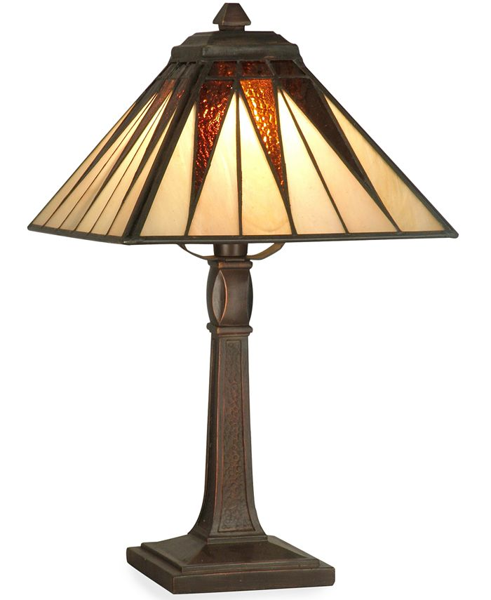 Dale Tiffany - Table Lamp, Cooper Tiffany Accent