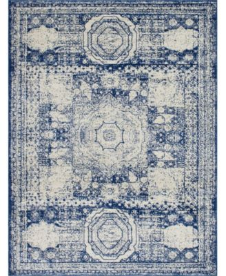 Mobley Mob2 Blue 8' x 10' Area Rug