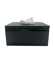 - Jewelry Box with Quartz Cluster