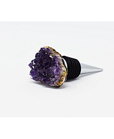 - Wine Stopper with Amethyst
