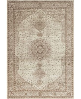 Mobley Mob1 Light Brown 4' x 6' Area Rug