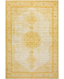 Mobley Mob1 Yellow Area Rug Collection