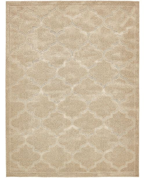 Bridgeport Home Filigree Shag Fil2 Beige Area Rug Collection