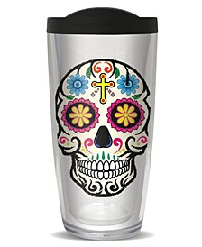 Sugar Skulls Double Wall Insulated Tumbler, 16 oz