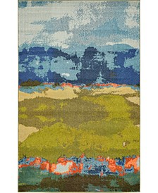 Newwolf New5 Blue Area Rug Collection