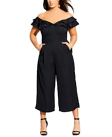 City Chic Trendy Plus Size Renata Jumpsuit