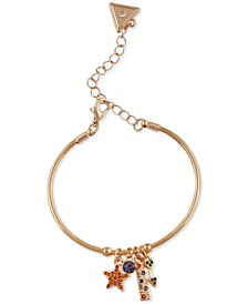 Crystal Star Bangle Bracelet