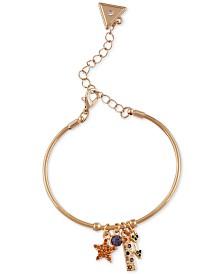 GUESS Crystal Star Bangle Bracelet