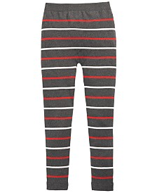 Epic Threads Big Girls Striped Sweater Leggings, Created For Macy's