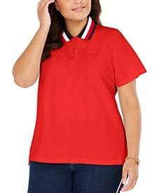 Plus Size Polo Shirt