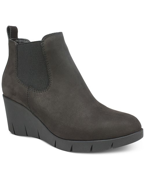 White Mountain Percy Wedge Booties