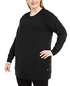 Plus Size Crewneck Tunic Top, Created For Macy's