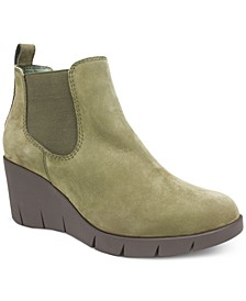 Percy Wedge Booties