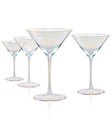 Luster Clear Martini Glass - Set of 4