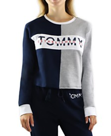 Tommy Hilfiger Colorblocked Logo Pajama T-Shirt