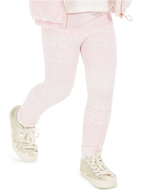 Epic Threads Toddler Girls Fair Isle Cable Knit Leggings, Created For Macy's