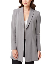 Tahari ASL Open-Front Topper Jacket