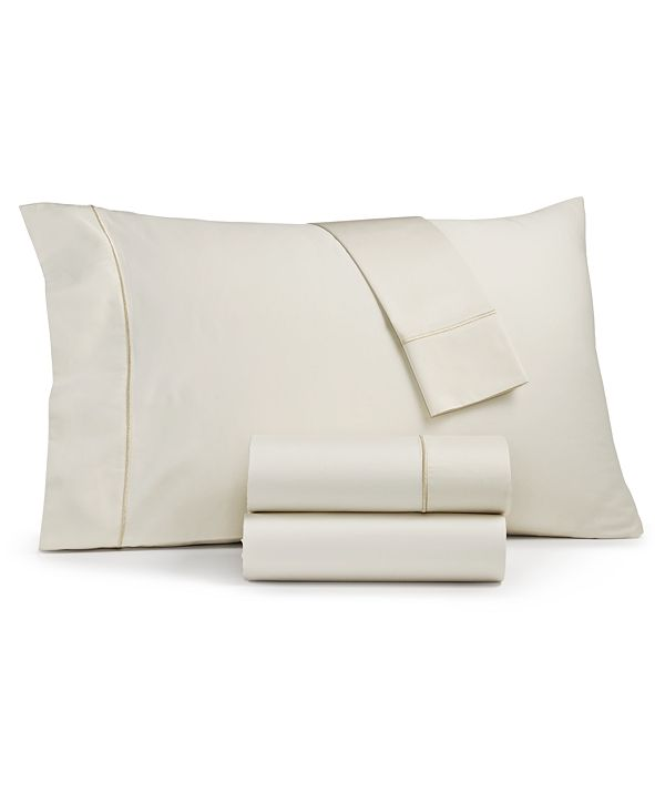 Sunham Fairfield Square Collection Waverly Cotton 450-Thread Count 4-Pc. Twin Sheet Set