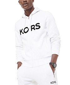 Men's Logo Fleece Full-Zip Hoodie, Created for Macy's