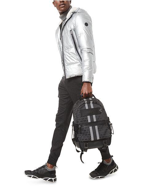 Michael Kors Men's Metallic Puffer Jacket