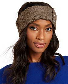 Patchwork Cable-Knit Headband