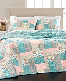 Southern Living Patchwork Twin Quilt, Created for Macy's