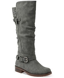 Miles Wide Calf Tall Riding Boots