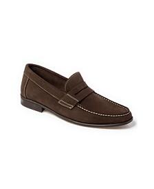 Moccasin Toe Penny Strap Slip-On
