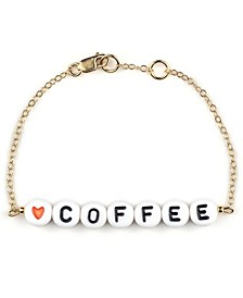 Coffee 18k Gold Plated Bracelet Treat Pack