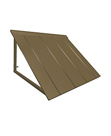 "7' Houstonian Metal Standing Seam Awning, 92"" W x 24"" H x 24"" D"