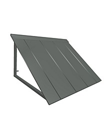 "8' Houstonian Metal Standing Seam Awning, 104"" W x 24"" H x 36"" D"