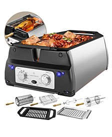 Sosaku Smokeless Infrared Rotisserie Indoor Tabletop Grill