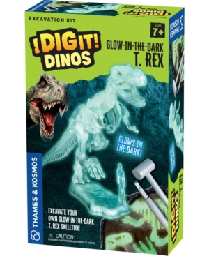 Thames & Kosmos I Dig It! Dinos - Glow-In-The-Dark T. Rex Excavation Kit