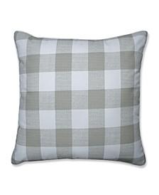 "Anderson Check 25"" x 25"" Outdoor Floor Pillow"