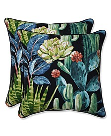 "Hatteras 16"" x 16"" Outdoor Decorative Pillow 2-Pack"