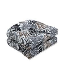 Setra Stone Wicker Seat Cushion, Set of 2