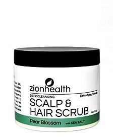 Hair Scrub, Pear Blossom, 4 oz