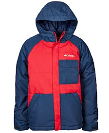 Big Boys Casual Slopes Hooded Jacket
