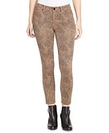 Perfect Animal-Print Skinny Jeans