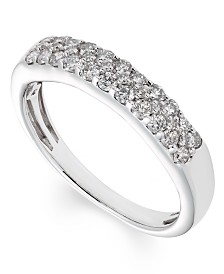 Diamond (1/2 ct. t.w.) Band in 14K White Gold