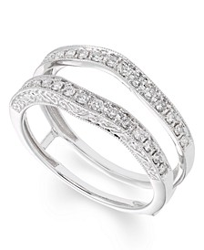 Certified Diamond (1/3 ct. t.w.) Ring insert in 14K White Gold