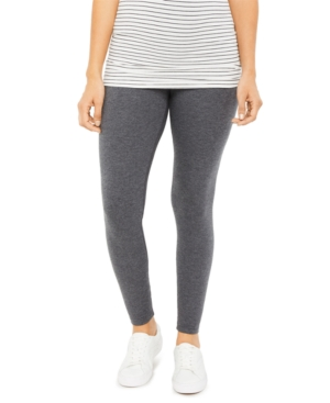 French Terry Maternity Leggings