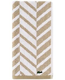 "Herringbone Cotton 16"" x 30"" Hand Towel"