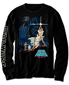 Star Wars Big Boys Vintage Japanese Poster T-Shirt