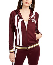 Cotton Side-Stripe Track Jacket
