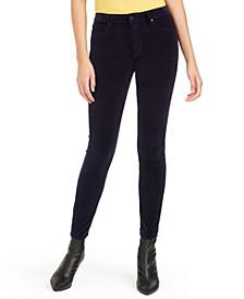Hilary Velvet High-Rise Jeans