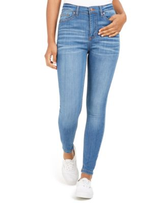 Celebrity Pink Juniors Ankle-Length Skinny Jeans